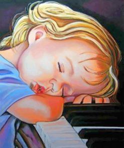 Sleepy Kid paint by numbers