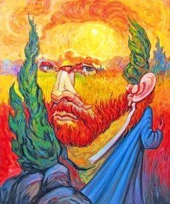 Van Gogh Collage paint by numbers