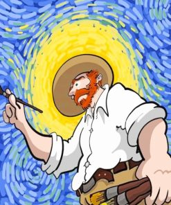 Vincent Van Gogh paint by numbers