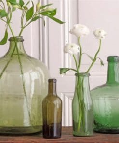 Glass Bottles Paint by numbers