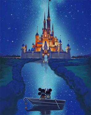 Disney Castle Paint by number