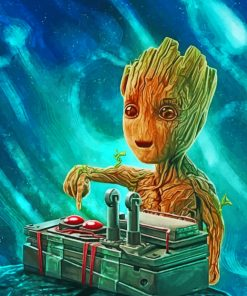 Dj Groot paint by number