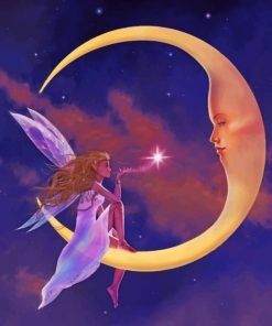 Fairy Tale and Moon paint by number