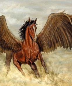 Fantasy Horse With Wings paint by numbers