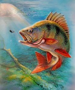 Fish In Water paint by numbers