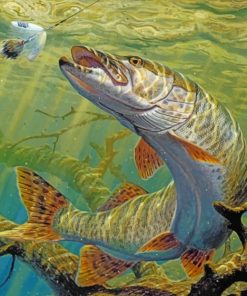 Fish Underwater Art paint by numbers