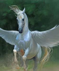 Horse With Wings paint by number