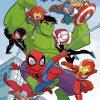 Marvel Superheroes paint by numbers