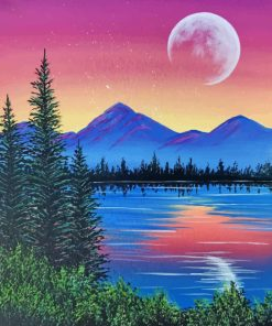 Nature Landscape Art paint by numbers