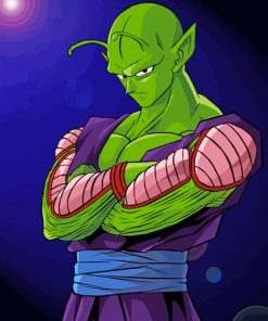 Piccolo Dragon Ball paint by number