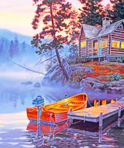 Silent Shores paint by numbers