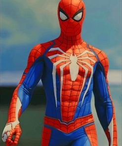 Spider Man paint by numbers