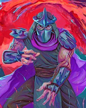 Super Shredder paint by number