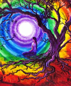 Tree Of Life Meditation paint by number