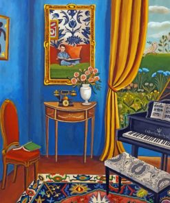 Music Room paint by numbers
