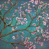 cherry blossom tree Art paint by number