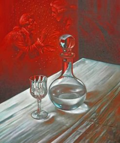 Glass Bottle Micheal Cheval paint by numbers