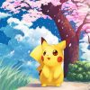 pikachu Pokemon paint by number