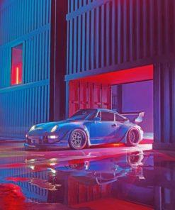 RWB Porsche Paint by numbers