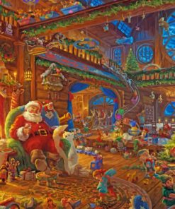 Christmas Time paint by numbers