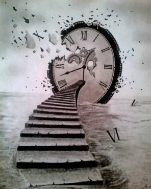 Time Flies paint by numbers