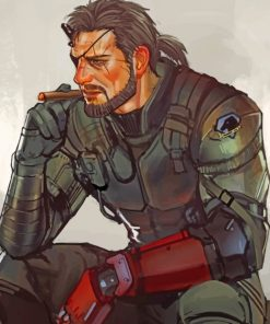 Big Boss paint by numbers