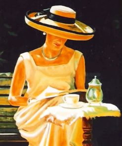 Classic Lady paint by numbers