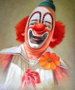 Clown paint by number