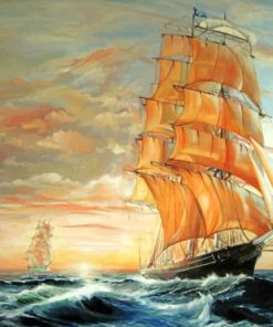 Cutty sark ship paint by numbers
