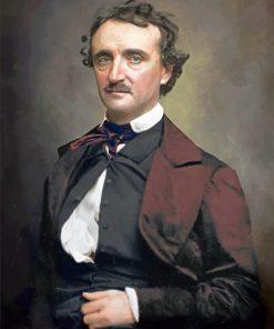 Edgar Allan Poe paint by numbers