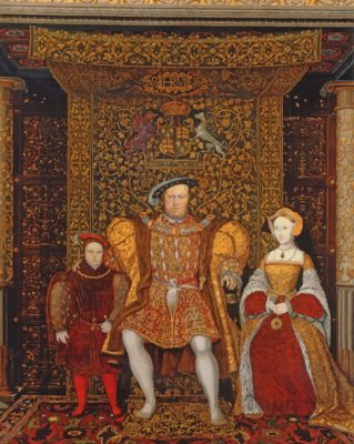 Henry VIII Family paint by numbers