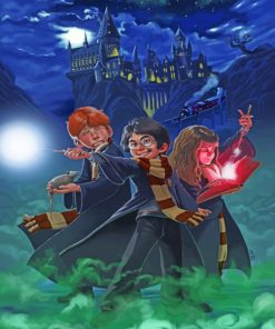 Harry Potter Friends paint by numbers