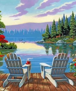 Lakeside-morning-paint-by-numbers