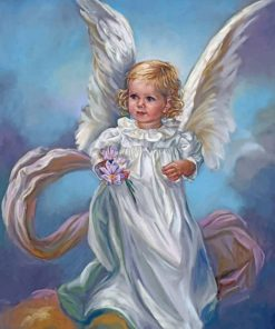 Little Angel Girl paint by numbers