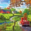 Nature Farm Scenery paint by numbers