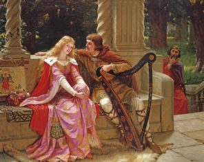 Tristan and Isolde paint by numbers