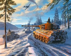 War Thunder paint by numbers