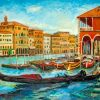 Aesthetic Abstract Venice paint by numbers