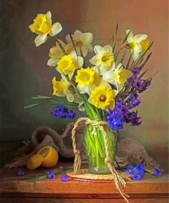 Aesthetic Flowers paint by numbers