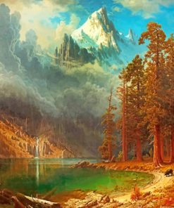 Albert Bierstadt paint by numbers