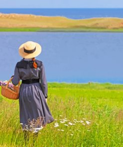 Anne of Green Gables paint by numbers
