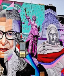 Bader Ginsburg Mural paint by numbers