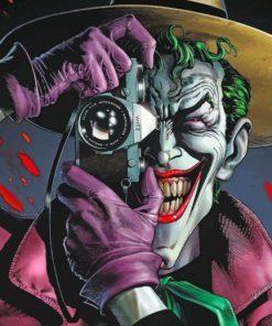 batman the killing joke paint by numbers
