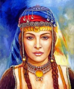 Berber Woman paint by numbers