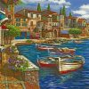 Silent Harbor paint by numbers