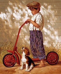 boy-and-his-dog-paint-by-number