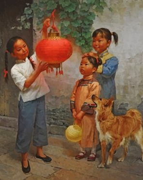 chinese-girls-paint-by-number