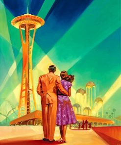 couple in seattle paint by numbers
