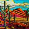 Southwest Art Maynard Dixon Ppaint by numbers