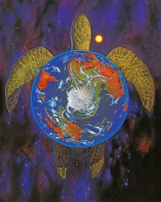 Discworld Turtle paint by numbers
